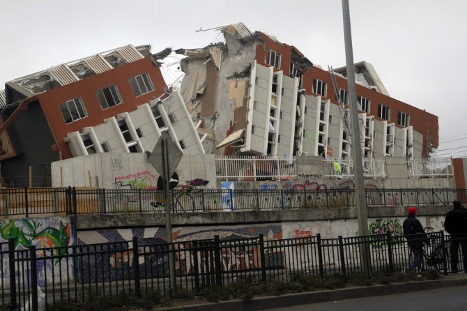 2010년 칠레지진 피해모습 - en.wikipedia.org 제공